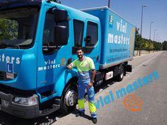 Abraham, un gran conductor de vehículos pesados con Autoescuelas Vial Masters. ¡Enhorabuena crack!