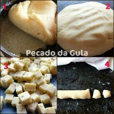 Blog de receitas culinárias com fotos. Food Trucks, Dairy, Food And Drink, Pizza, Cheese, Cooking, Pastel, Recipes, Blog