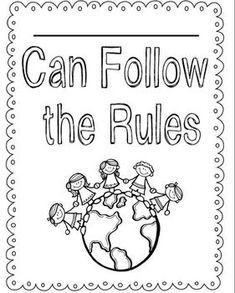 Back to school unit on school rules, respect, peace, & being a good friend!