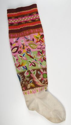 sukad beautiful Norwegian sock.  What a gorgeous Christmas stocking