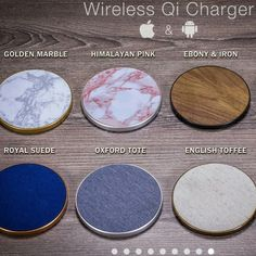 SALE: Original Wireless Phone Chargers for Apple iPhone & Samsung Android