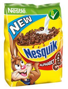 -in USA- Nestle Nesquik Alphabet breakfast cereal- 325 g