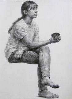 Human Figure Sketches, Human Figure Drawing, Figure Sketching, Body Drawing, Life Drawing, Anatomy Sketches, Anatomy Drawing, Anatomy Art, Drawing Sketches