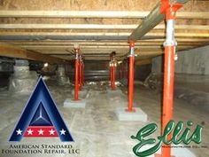 Ellis Manufacturing Co Jack Post Supporting Floor In