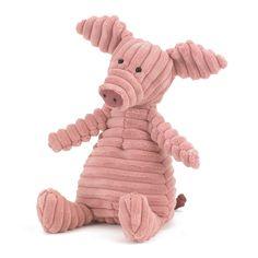 Cordy Roy Schwein Kuscheltier von Jellycat - aus schmuseweichem Breitcord gearbeitet! Bonuspunkte sammeln, auf Rechnung bestellen, DHL Blitzlieferung!