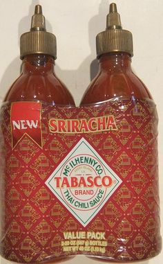 Tabasco Sriracha Thai Chili Sauce Value Pack 20 Ounce (Pack of 2) -- To view further for this item, visit the image link.