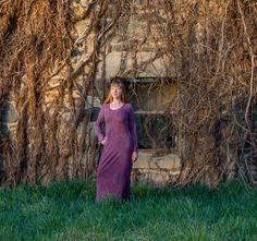 Long Maxi Dress by OneRoomFibers on Etsy, $85.00