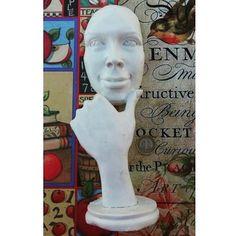 Düşünen Mask Boyutlar: 30x10cm Fiyat: 25TL http://ift.tt/1r2jcP8 #polyesterboyama #düşünenmask #polyestermask #polyestersurat #polyesteradam #hobi #polyester