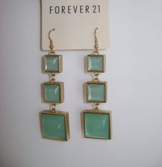 Mint earings