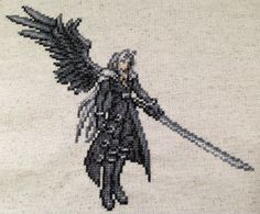 Everyone that knows me is already aware, but I think it's pretty obvious that I like Final Fantasy games. So of course I love to see stitched pieces from some of my favourites! One of the latest is...