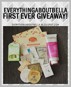 everythingaboutbella first ever giveaway!