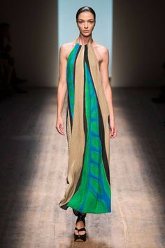Salvatore Ferragamo Spring 2015. BAZAAR is bringing you the best of the best from Milan Fashion Week here.