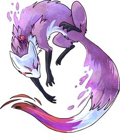 Violet vixen by *griffsnuff on deviantART