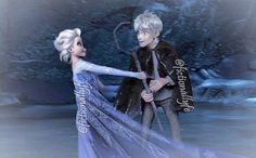 ship, jelsa, and jack frost image