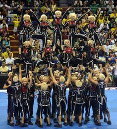 """The UP cheerdance team always make me wanna sing """"UP Naming Mahal"""" Go Maroons!"""