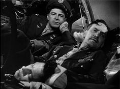 Dana Andrews, Frederic March, and Harold Russell in The Best Years of Their Lives (1946)