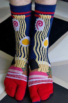 Ramen Tabi Socks <3