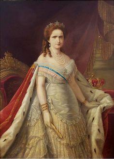 """Maria Pia de Saboia –  (Turim, 16 de Outº 1847 — Stupinigi, 5 de julho 1911) foi princesa de Itália da Casa de Saboia e rainha consorte de Portugal, durante o reinado de seu marido, D. Luís I, da Casa de Bragança-Saxe-Coburgo-Gota.  D. Maria Pia ficou conhecida como O Anjo da Caridade e A Mãe dos Pobres por sua compaixão e causas sociais; entretanto, proferiu uma famosa frase em resposta à crítica de um dos seus ministros devido ao preço das suas extravagâncias: """"Quem quer rainhas…"""