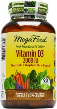 MegaFood Vitamin D-3. Great natural vitamin!