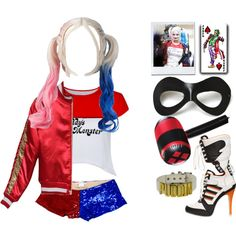 How to Dress Like Harley Quinn (6)