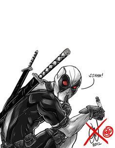 Deadpool of Uncanny X-Force by alvinsanity.deviantart.com on @deviantART
