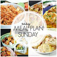 Easy Meal Plan! {Week 63}