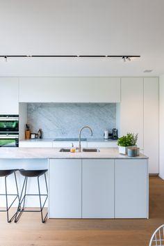 living room ideas – New Ideas Open Plan Kitchen Dining, Kitchen Island Table, Wood Kitchen Cabinets, New Kitchen, Light Wood Kitchens, Grey Kitchens, Luxury Kitchens, Home Kitchens, Dream House Interior