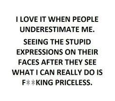Exactly so true.