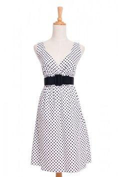Polka Dot Dress @ www.taylorkit.com