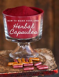 How To Make Your Own Herbal Capsules | Bulk Herb Store Blog | Making your own herbal capsules is simple and very frugal! Let us teach you how! #vitaminB #vitaminC #vitaminA