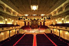 Concertgebouw - some nights they put down blankets instead of chairs and you lie down and listen to piano/organ concerts