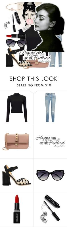 """Style Icon❤"" by ashstylist101 on Polyvore featuring Miss Selfridge, Frame, Valentino, WALL, Charlotte Olympia, La Perla, Smashbox, Bobbi Brown Cosmetics and David Yurman"