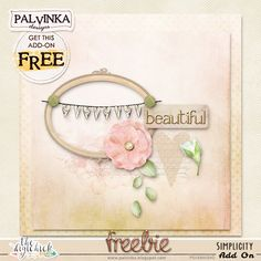 "Palvinka Designs: Brand NEW ""Simplicity Collection"" and Freebie"