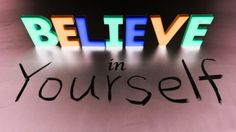 If you don't believe in yourself, no one else will http://www.alfredpolo.com/believe-in-yourself-and-people-will-do-the-same-to-you/
