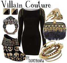 dress like your favorite disney character: Villain Couture