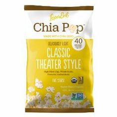 Lesserevil Chia Pop, Classic Theater Style - wanna try this one!