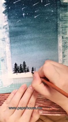 This paintings was done by using our Sakura Portable Watercolor beginner Set Shop this watercolor essential at 3 with code Save it if you like this work - Watercolor Beginner, Watercolor Paintings For Beginners, Simple Watercolor, Watercolor Galaxy, Watercolor Art Paintings, Galaxy Painting, Beginner Painting, Watercolor Background, Watercolor Landscape