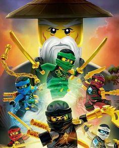 I'm so excited for hands of time! Whens it coming out in English? Ninjago Party, Lego Ninjago Movie, Lego Ninjago Lloyd, Lego Wallpaper, Arte Ninja, Niklas, Lego Birthday, Lego Sets, Little Pony