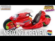 (20) Akira Kaneda's Bike Revival 1/6 Scale Medicom x Bandai Unboxing & Review - YouTube Kaneda Bike, Akira Kaneda, Diecast, Baby Car Seats, Scale, Children, Youtube, Weighing Scale, Young Children