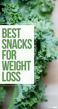 Lose weight with these healthy snacks!