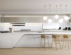 Minimal Kitchen Design Inspiration is a part of our furniture design inspiration series. Minimal Kitchen design inspirational series is a weekly showcase ~ Great pin! For Oahu architectural design visit http://ownerbuiltdesign.com