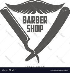 Vector image of Vintage barber shop logos labels badges design Vector Image, includes retro, hair, design, old & style. Illustrator (.ai), EPS, PDF and JPG image formats.