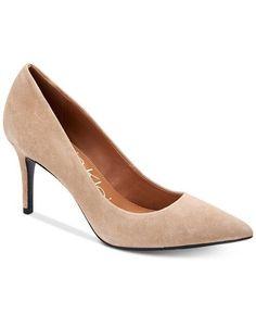 ee7125fe865f Calvin Klein Women Gayle 3-Inch Heel Black Patent Pointed-Toe Pump 6.5M