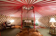 Yurt | El Cosmico | Marfa, TX
