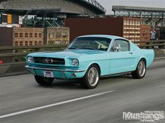 1965 Ford Mustang Fastback Front Left Quarter