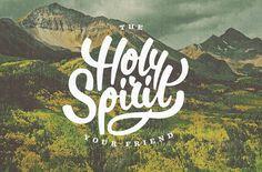 holy spirit - #lettering