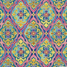 La Scala 7 - Roman Tiles - Quilt Fabrics from www.eQuilter.com