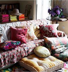 Bohemian Vintage: Bohemian Wednesday - Textiles Inspiration - 04.10.2013