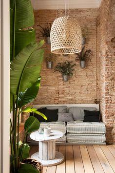 Un espectacular piso en Barcelona de aire bohemio | Bohemian and Chic