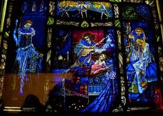 Ireland ~ Harry Clarke's stained glass @ The National Gallery in Dublin. Beautiful.